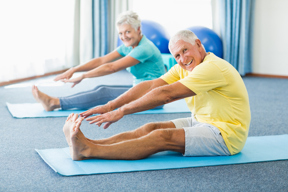Importance of Stretching in a Senior's Fitness Routine